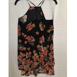 Express XS flower print blouse